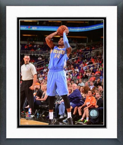 Denver Nuggets Gary Harris Action Framed Photo
