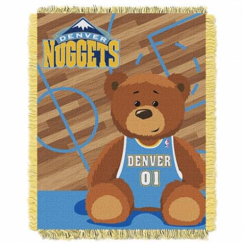 Denver Nuggets Half Court Baby Blanket