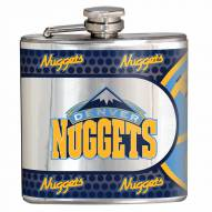 Denver Nuggets Hi-Def Stainless Steel Flask