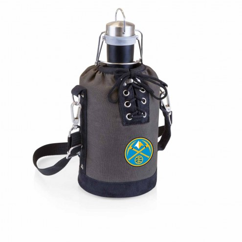 Denver Nuggets Insulated Growler Tote with 64 oz. Stainless Steel Growler