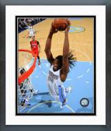 Denver Nuggets Kenneth Faried 2014-15 Action Framed Photo