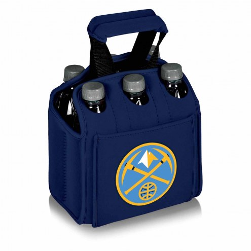Denver Nuggets Navy Six Pack Cooler Tote