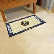 Denver Nuggets NBA Court Large Runner