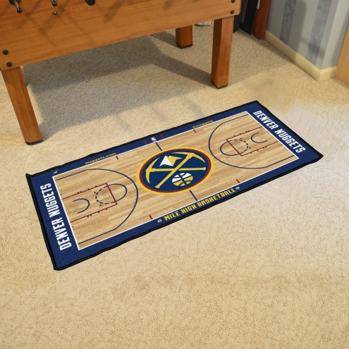 Denver Nuggets NBA Court Runner Rug