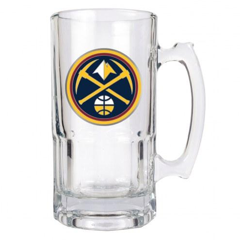 Denver Nuggets NBA 1 Liter Glass Macho Mug