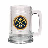 Denver Nuggets NBA 2-Piece Glass Tankard Beer Mug Set