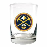 Denver Nuggets NBA 2-Piece 14 Oz. Rocks Glass Set
