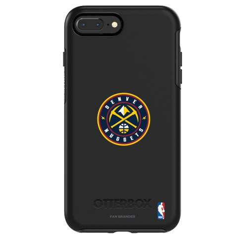 Denver Nuggets OtterBox iPhone 8/7 Symmetry Black Case