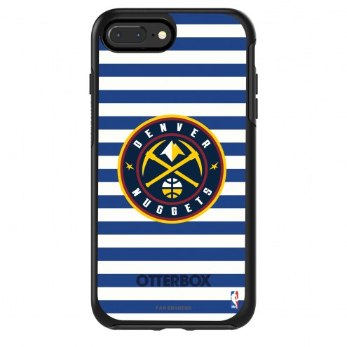 Denver Nuggets OtterBox iPhone 8/7 Symmetry Stripes Case