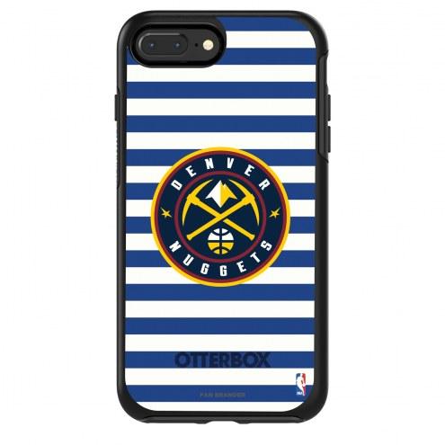 Denver Nuggets OtterBox iPhone 8/7 Symmetry Stripes Case