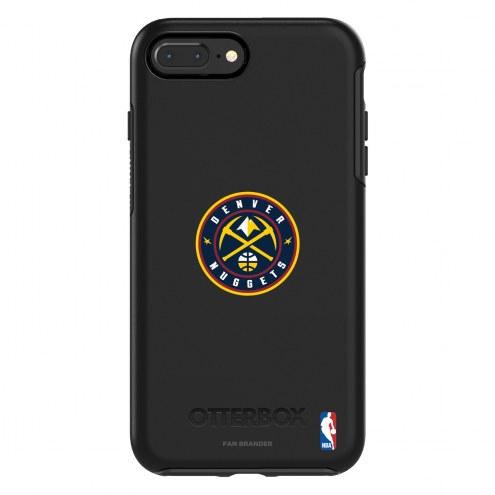 Denver Nuggets OtterBox iPhone 8 Plus/7 Plus Symmetry Black Case