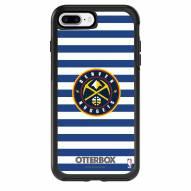 Denver Nuggets OtterBox iPhone 8 Plus/7 Plus Symmetry Stripes Case