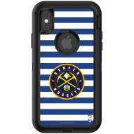 Denver Nuggets OtterBox iPhone X/Xs Defender Stripes Case