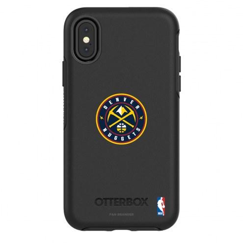 Denver Nuggets OtterBox iPhone X/Xs Symmetry Black Case