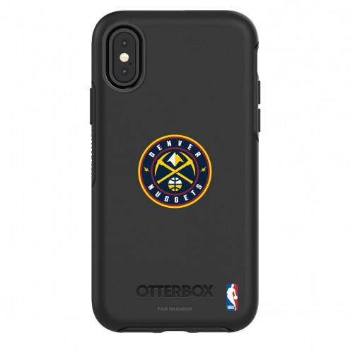 Denver Nuggets OtterBox iPhone X/Xs Symmetry Black Case