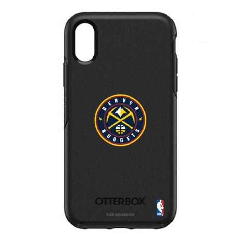 Denver Nuggets OtterBox iPhone XR Symmetry Black Case