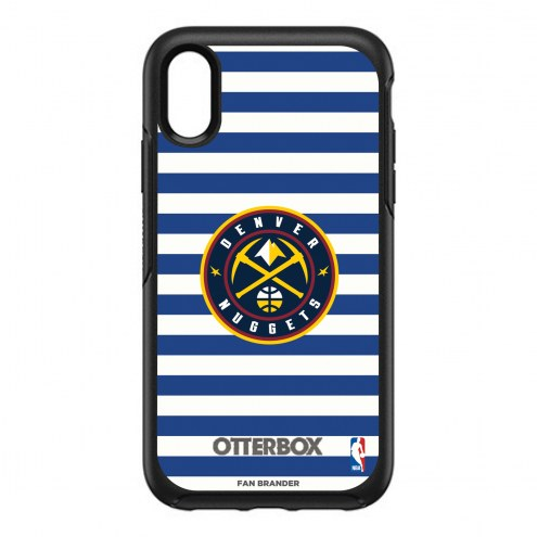 Denver Nuggets OtterBox iPhone XR Symmetry Stripes Case