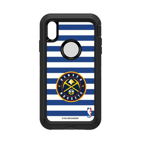 Denver Nuggets OtterBox iPhone XS Max Defender Stripes Case