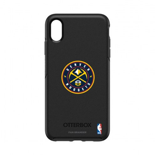 Denver Nuggets OtterBox iPhone XS Max Symmetry Black Case