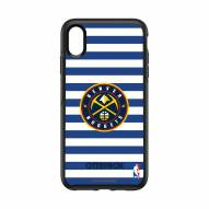 Denver Nuggets OtterBox iPhone XS Max Symmetry Stripes Case