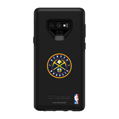 Denver Nuggets OtterBox Samsung Galaxy Note9 Symmetry Black Case