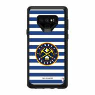Denver Nuggets OtterBox Samsung Galaxy Note9 Symmetry Stripes Case