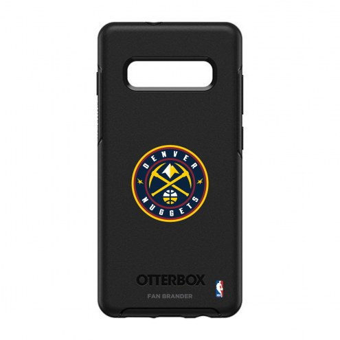 Denver Nuggets OtterBox Samsung Galaxy S10+ Symmetry Black Case