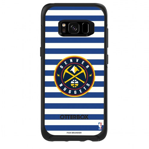 Denver Nuggets OtterBox Samsung Galaxy S8 Symmetry Stripes Case