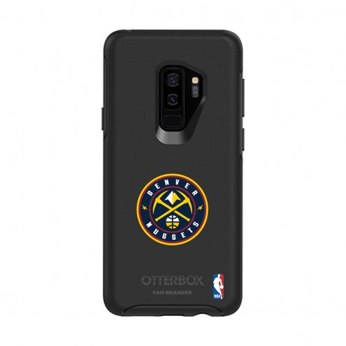 Denver Nuggets OtterBox Samsung Galaxy S9+ Symmetry Black Case