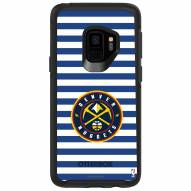 Denver Nuggets OtterBox Samsung Galaxy S9 Symmetry Stripes Case