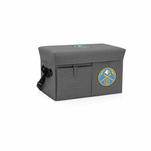 Denver Nuggets Ottoman Cooler & Seat