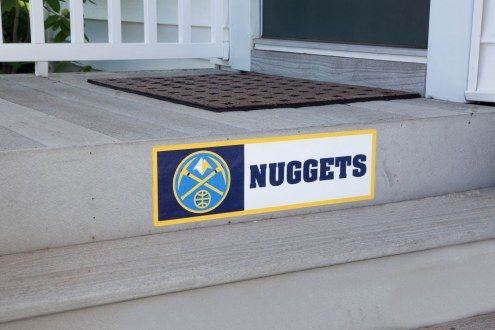 Denver Nuggets Outdoor Step Graphic