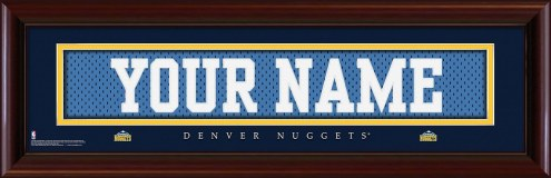 Denver Nuggets Personalized Stitched Jersey Print