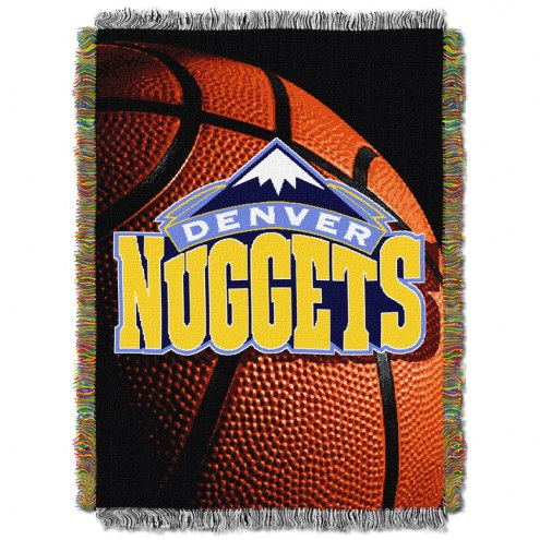 Denver Nuggets Photo Real Throw Blanket