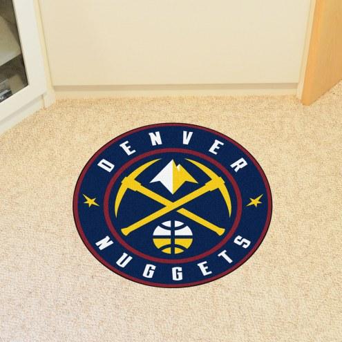 Denver Nuggets Rounded Mat