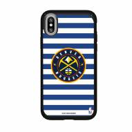 Denver Nuggets Speck iPhone XR Presidio Pro Stripes Case