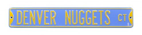 Denver Nuggets Street Sign