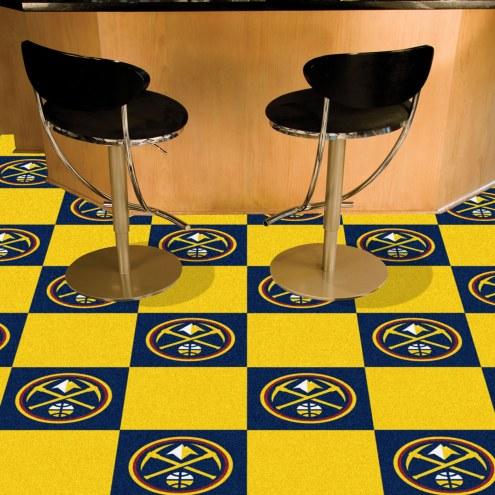 Denver Nuggets Team Carpet Tiles