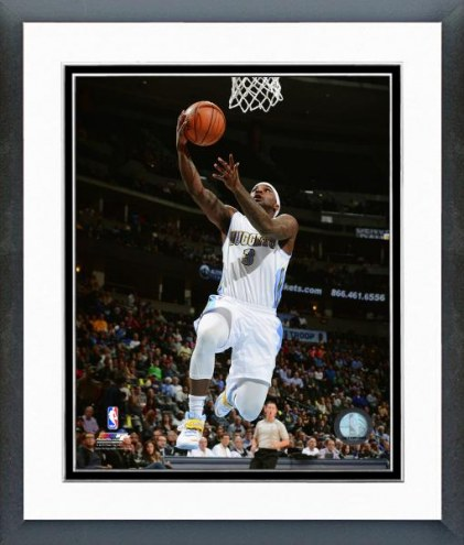 Denver Nuggets Ty Lawson Action Framed Photo