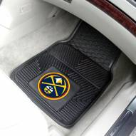 Denver Nuggets Vinyl 2-Piece Car Floor Mats