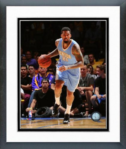 Denver Nuggets Wilson Chandler Action Framed Photo
