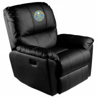Denver Nuggets XZipit Rocker Recliner with Secondary Logo