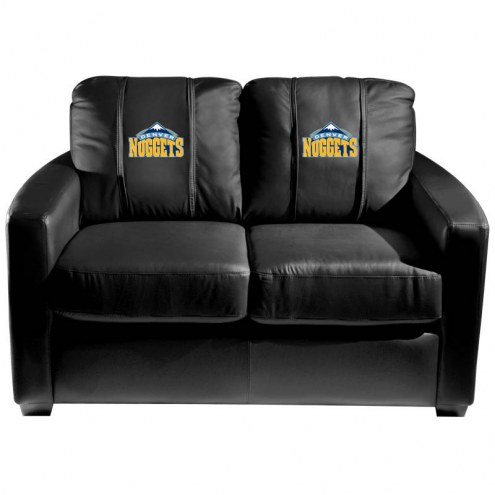 Denver Nuggets XZipit Silver Loveseat
