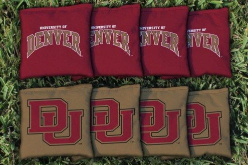 Denver Pioneers Cornhole Bag Set