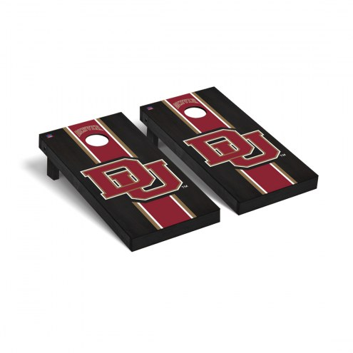Denver Pioneers Onyx Stained Cornhole Game Set