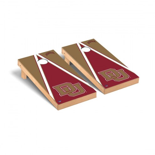 Denver Pioneers Triangle Cornhole Game Set
