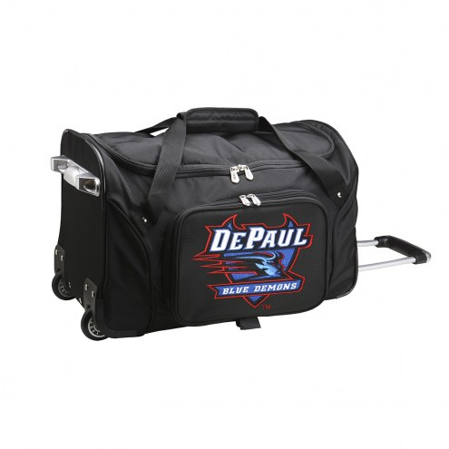"DePaul Blue Demons 22"" Rolling Duffle Bag"