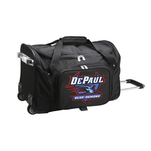 "DePaul Blue Demons 22"" Rolling Duffle Bag"