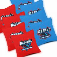 DePaul Blue Demons Cornhole Bags