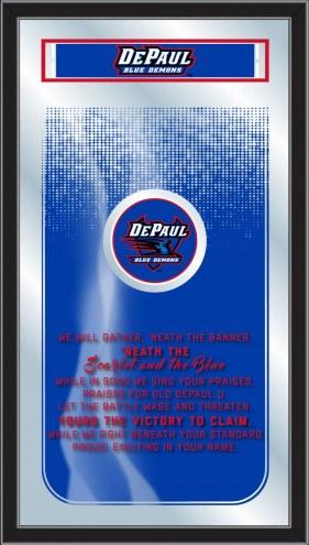DePaul Blue Demons Fight Song Mirror